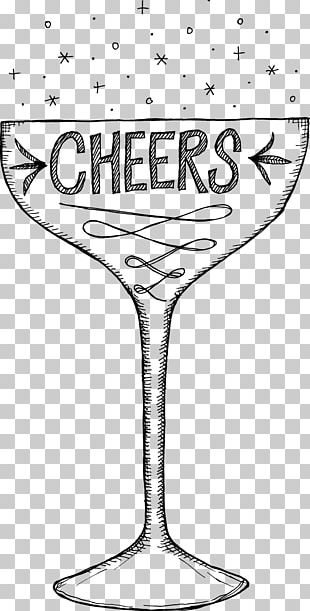 Champagne Glass Stemware Wine Glass Tableware PNG
