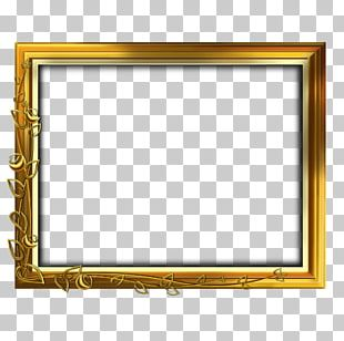 Frames Gold Stock Photography Ornament PNG