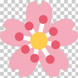 Emoji Domain Flower Emojipedia English PNG