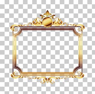 Frame Gold Film Frame Luxury PNG