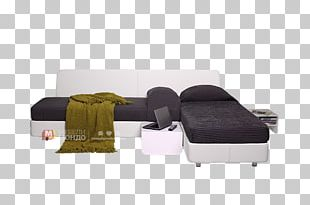 Sofa Bed Angle Chaise Longue Couch Table PNG
