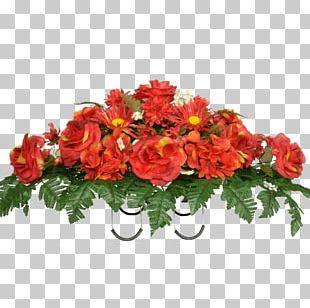 Cut Flowers Hydrangea Artificial Flower Rose PNG