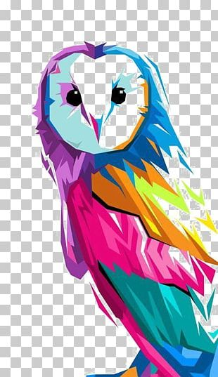 Owl Art Drawing Painting PNG