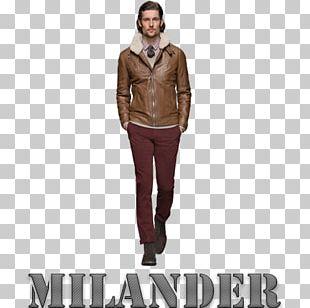 Leather Jacket Fashion Hugo Boss Clothing PNG