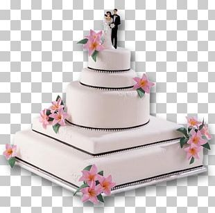 Wedding Cake Icing Layer Cake Christmas Cake PNG