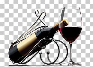 Red Wine Champagne Wine Racks Wine Glass PNG