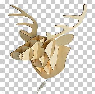 Reindeer Antler Product Design PNG