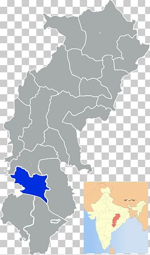 Chhattisgarh States And Territories Of India PNG