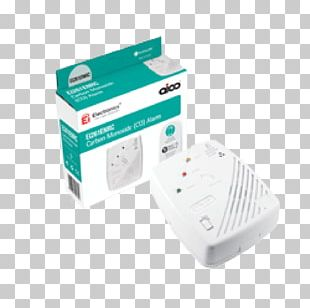 Carbon Monoxide Detector Mains Electricity Backup Battery Electric Battery PNG