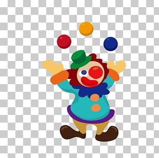 Circus Cartoon Clown PNG