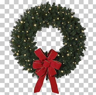Garland Wreath Christmas Tree Balsam Hill PNG