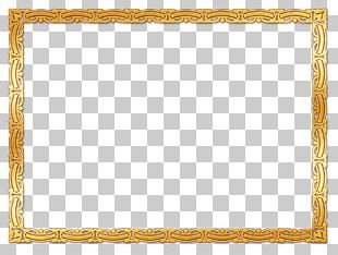 Frames Stock Photography Gold PNG