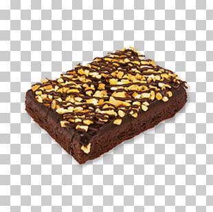 Chocolate Brownie Fudge Turrón Frozen Dessert PNG