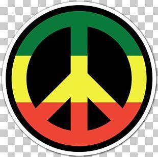 Rastafari Reggae Peace Symbols Jah PNG