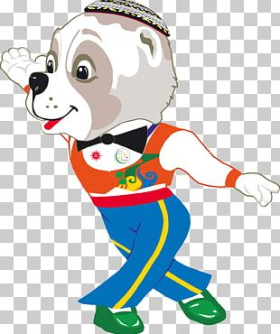 2017 Asian Indoor And Martial Arts Games Ashgabat Central Asian Shepherd Dog Mascot Turkmens PNG