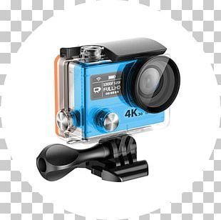 Action Camera 4K Resolution Video Cameras Laptop PNG
