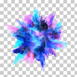 Explosion Color PNG