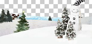 Winter Snowman Christmas PNG