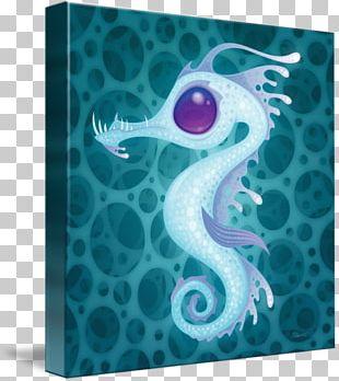 Seahorse Canvas Print Leafy Seadragon Tote Bag PNG