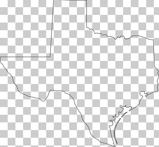 Texas Map PNG