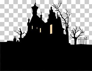 Halloween Haunted Attraction Holiday Illustration PNG