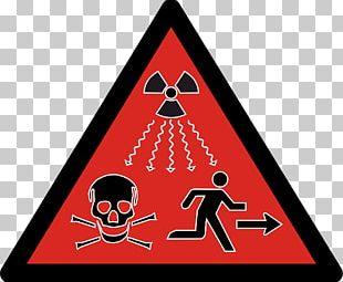 Ionizing Radiation Hazard Symbol Radioactive Decay PNG