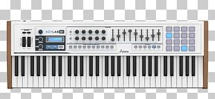 ARP 2600 Arturia Sound Synthesizers MIDI Controllers MIDI Keyboard PNG