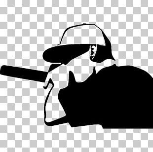 Hip Hop Music Rapper Silhouette PNG