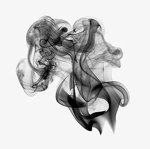 Black Misty Smoke PNG