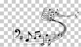Musical Note Staff Music PNG
