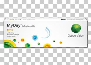 Toric Lens Contact Lenses CooperVision MyDay Astigmatism PNG