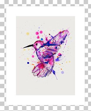 Watercolor Painting T-shirt Art Graphic Design PNG