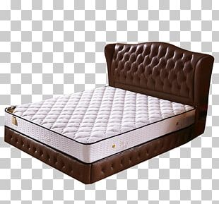 Bed Frame Mattress Box-spring Latex PNG