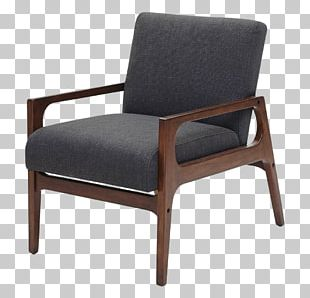 Eames Lounge Chair Nightstand Table Furniture PNG