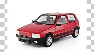 Fiat Uno Model Car Fiat Automobiles Subcompact Car PNG