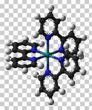Coordination Complex Phenanthroline Ferroin Tris(bipyridine)ruthenium(II) Chloride PNG