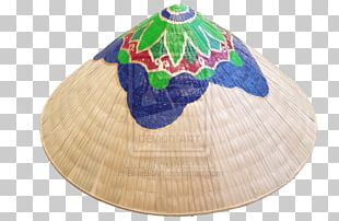 Asian Conical Hat Artist Painting PNG