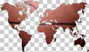 World Map Globe Map PNG