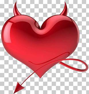 Heart Devil Satan Love Symbol PNG