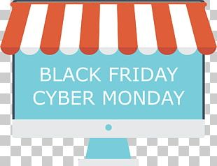 Cyber Monday E-commerce Retail Black Friday Shopping PNG