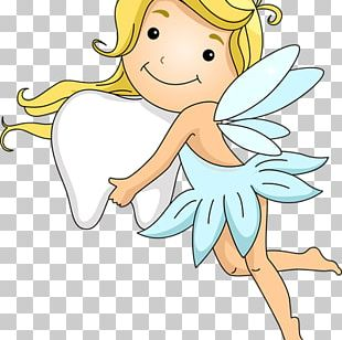 Angelet De Les Dents Fairy Tooth Child PNG