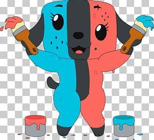 Nintendo Switch Dog Drawing Puppy Fan Art PNG