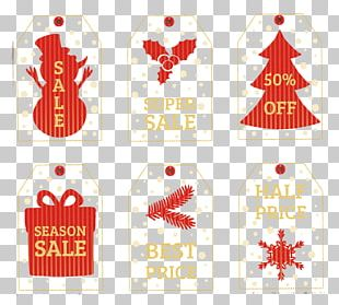 Christmas Tag Discounts And Allowances PNG