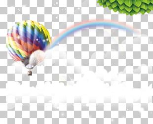 Hot Air Balloon Flight Icon PNG