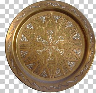 Tableware Plate Portable Network Graphics Brass PNG