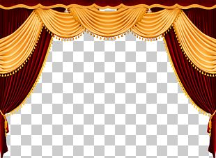 Theater Drapes And Stage Curtains Theatre Front Curtain PNG