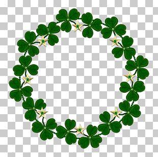 Ireland Saint Patricks Day Shamrock PNG