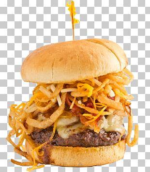 Hamburger Veggie Burger Cheeseburger Slider Fast Food PNG