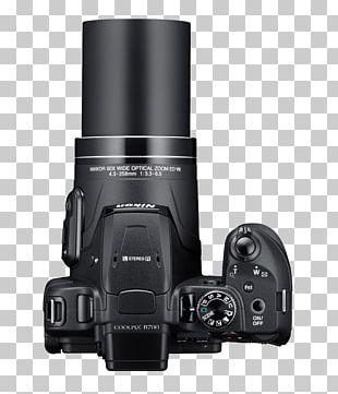 Zoom Lens Point-and-shoot Camera Bridge Camera Nikon PNG