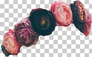 Garland Wreath Crown Cut Flowers PNG